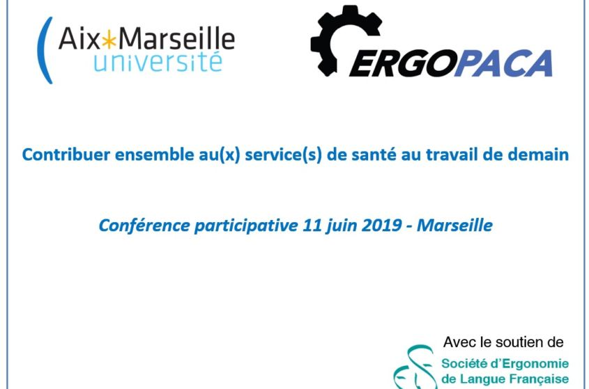 11/06/2019 – Conférence participative «Contribuer au(x) service(s) de travail de demain» – MARSEILLE